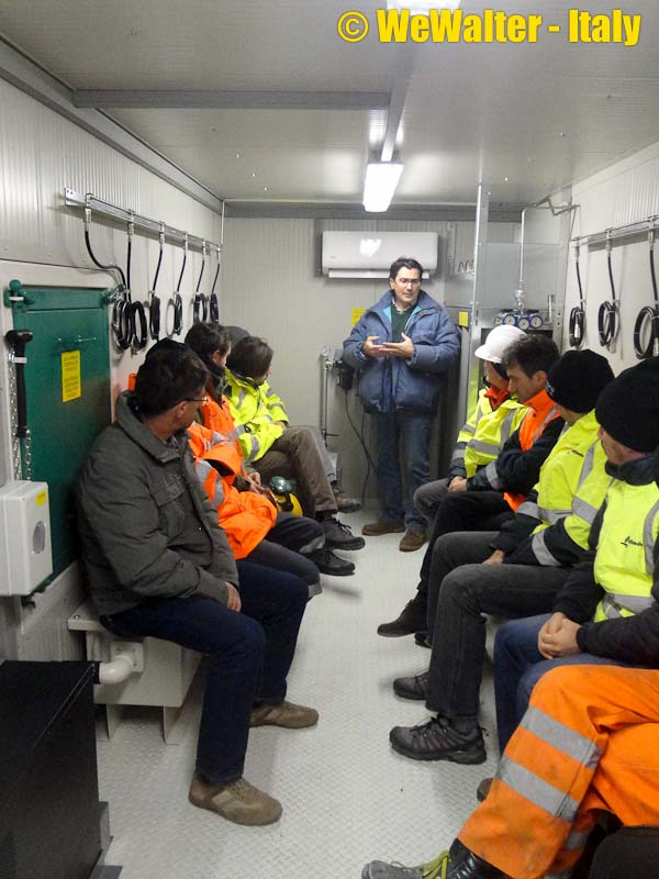 Air Conditioner Reviews >> Refuge Chamber for Frejus Tunnel (Italy) - WE Walter Srl