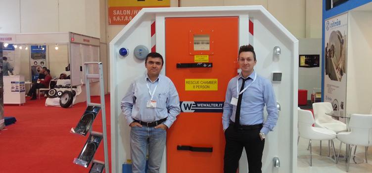 Mining Turkey Fair, Istanbul 2014